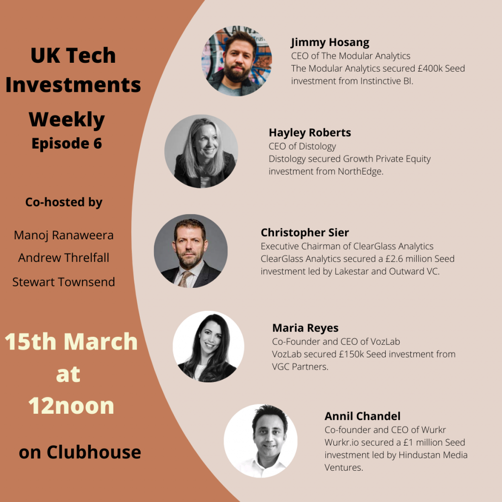 UK Investment Weekly Clubhouse Episode 6