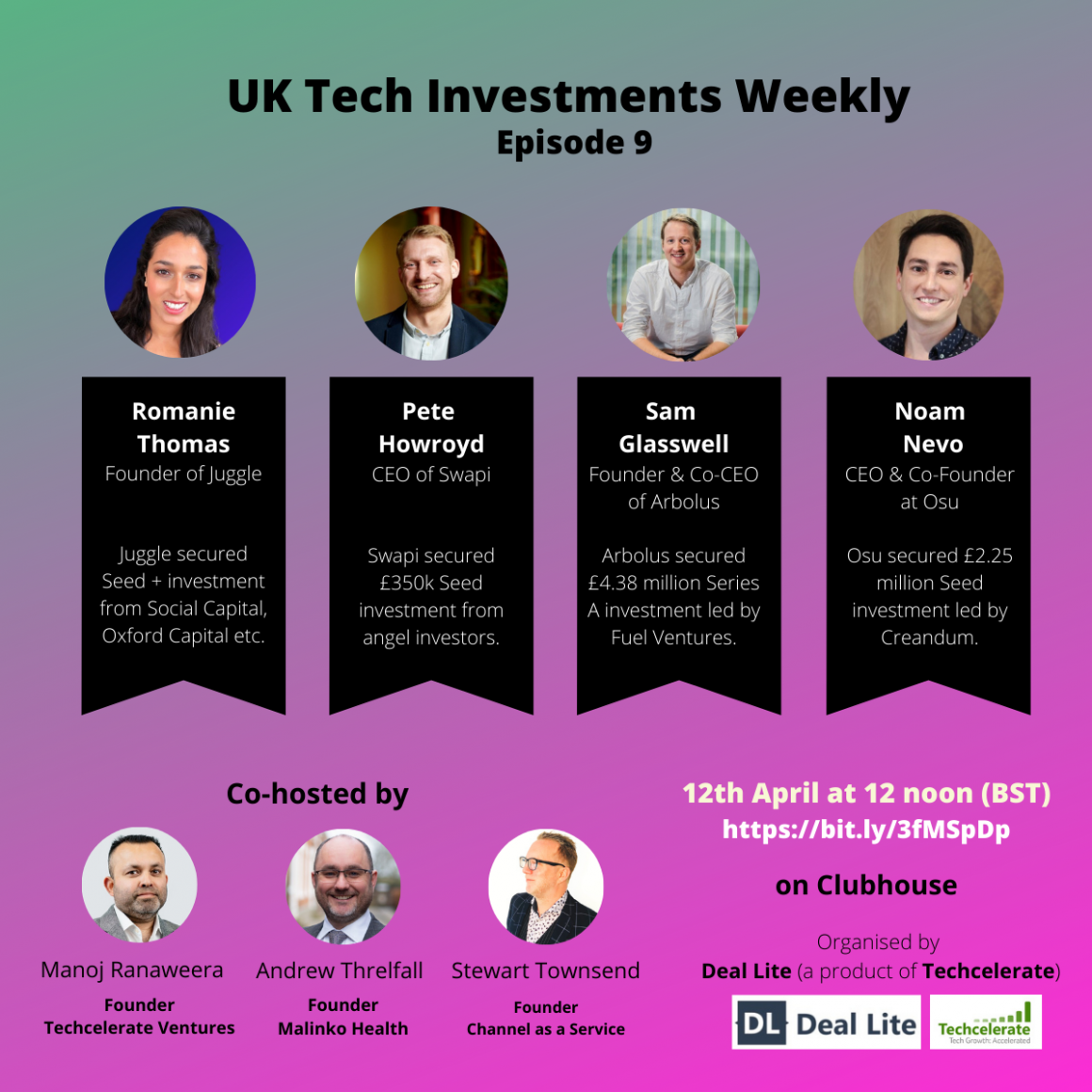 UK Tech Investments weekly 9