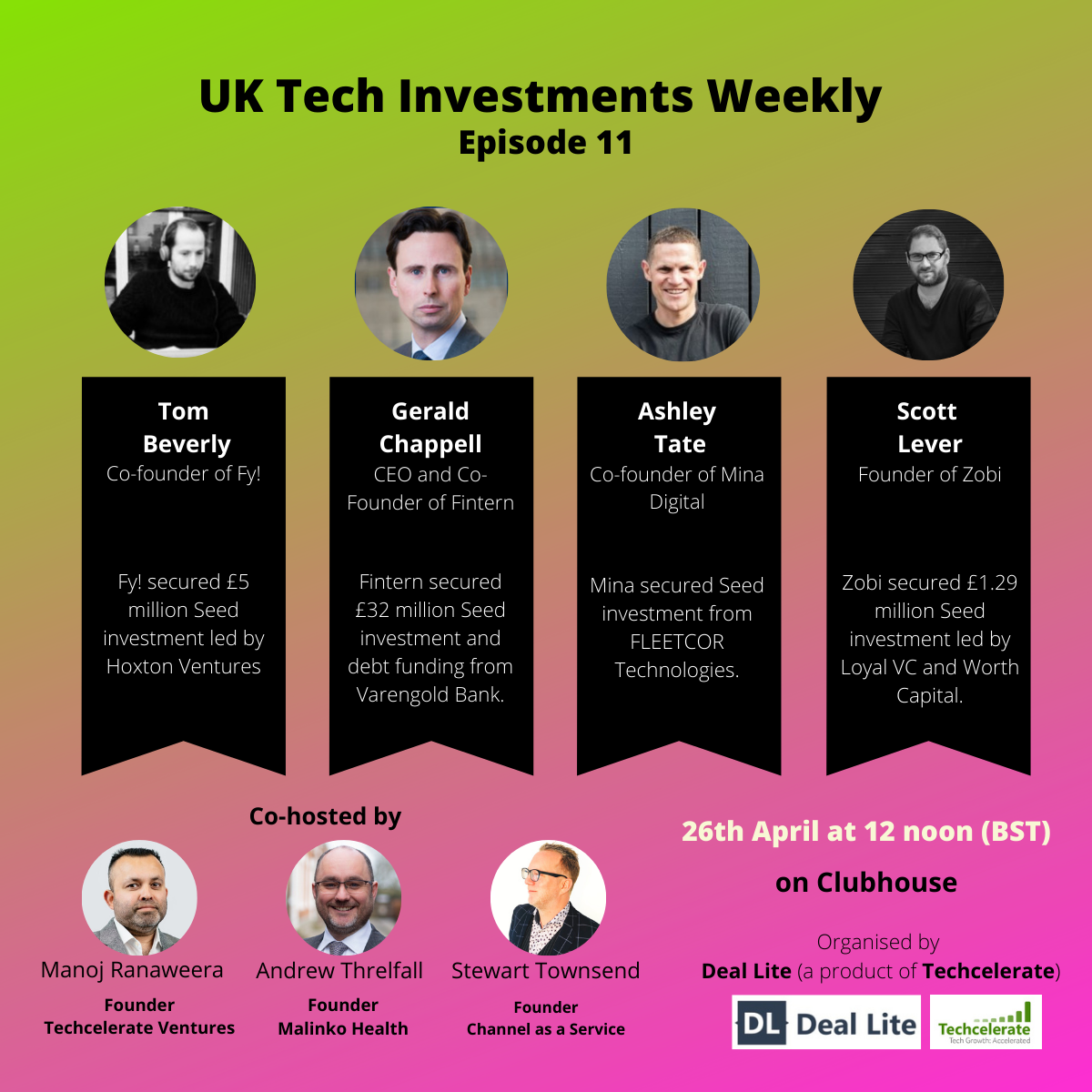 UK Tech Investment Weekly Episode 11
